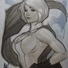 Power Girl - Adam Hughes