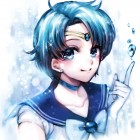 Sailor Mercury - Ohagi