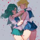 Sailor Uranus X Sailor Neptune - Aruterra