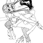 Nico Robin vs Nami Bearhug - Biesiuss