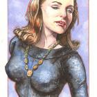 Julie Newmar Catwoman - Scott Sava